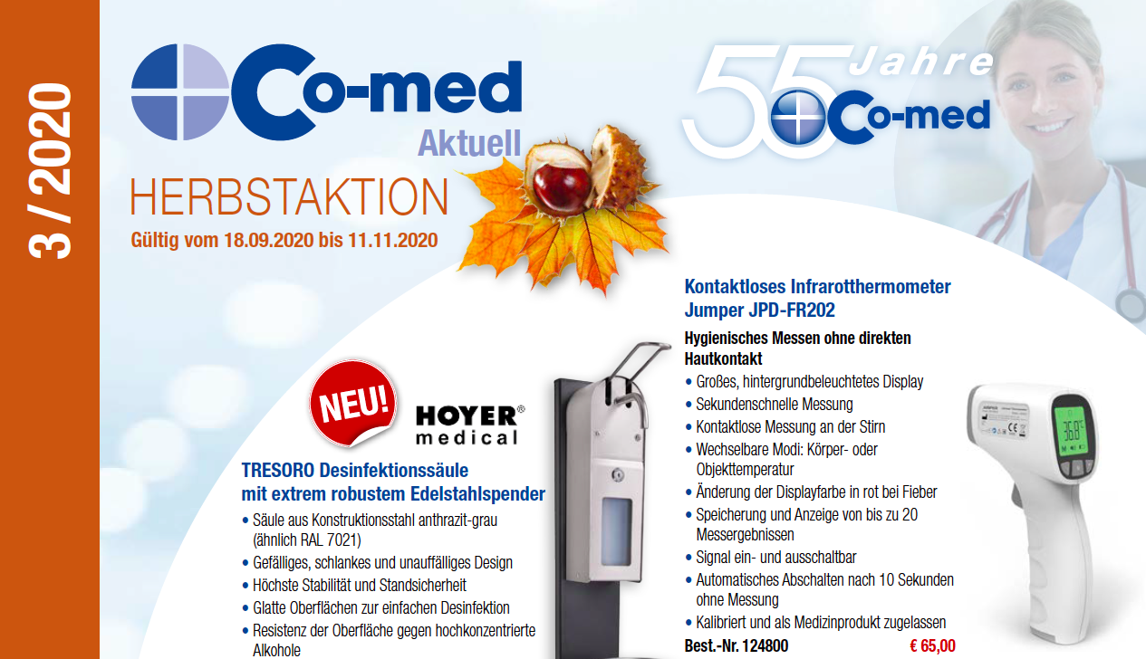 Co-med Aktuell HERBSTAKTION 03/2020